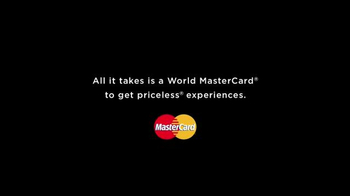 World Mastercard TV Spot, 'Go From Everyday to Priceless' - Thumbnail 1