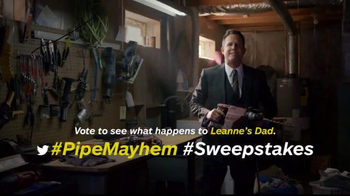 Allstate TV Spot, 'DIY Mayhem: Vote for Leanne's Dad' - 4 commercial airings