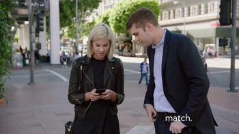 Match.com TV Spot, 'Match On the Street: Jordan More Mature' - Thumbnail 4