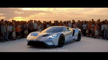 Ford GT TV Spot, 'Magnetic Power. By Design.' - 152 commercial airings