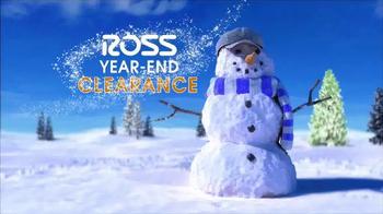 Ross Year-End Clearance TV Spot, 'Snowman' - Thumbnail 2