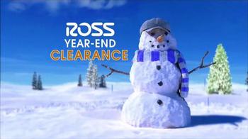 Ross Year-End Clearance TV Spot, 'Snowman' - Thumbnail 3