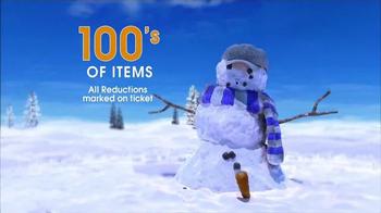 Ross Year-End Clearance TV Spot, 'Snowman' - Thumbnail 4