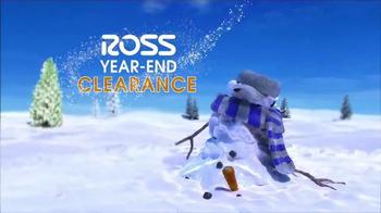 Ross Year-End Clearance TV Spot, 'Snowman' - Thumbnail 6