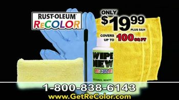 Wipe New Rust-Oleum ReCOLOR TV Spot, 'Stop Painting'