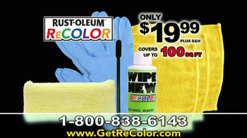 Wipe New Rust-Oleum ReCOLOR TV Spot, 'Stop Painting' - 3634 commercial airings