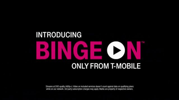 T-Mobile Binge On TV Spot, 'Burning Data'