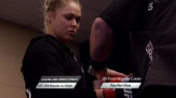 Time Warner Cable Pay-Per-View TV Spot, 'UFC 193: Rousey vs. Holm'