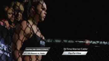Time Warner Cable Pay-Per-View TV Spot, 'UFC 193: Rousey vs. Holm' - Thumbnail 5