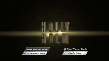 Time Warner Cable Pay-Per-View TV Spot, 'UFC 193: Rousey vs. Holm' - Thumbnail 6