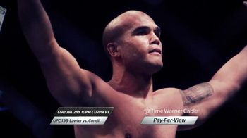 Time Warner Cable Pay-Per-View TV Spot, 'UFC 195: Lawler vs. Condit'