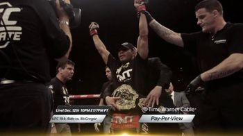 Time Warner Cable Pay-Per-View TV Spot, 'UFC 194: Aldo vs. McGregor'