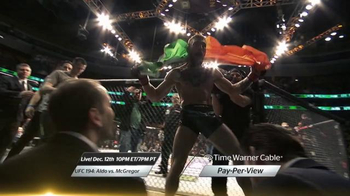 Time Warner Cable Pay-Per-View TV Spot, 'UFC 194: Aldo vs. McGregor' - Thumbnail 2