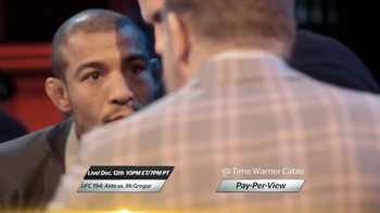 Time Warner Cable Pay-Per-View TV Spot, 'UFC 194: Aldo vs. McGregor' - Thumbnail 4