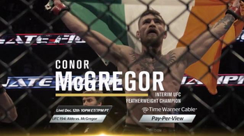 Time Warner Cable Pay-Per-View TV Spot, 'UFC 194: Aldo vs. McGregor' - Thumbnail 5