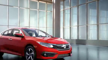 2016 Honda Civic TV Spot, 'The Dreamer' Song by Empire of the Sun - Thumbnail 8