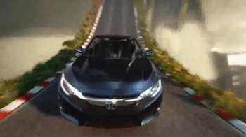2016 Honda Civic TV Spot, 'The Dreamer' Song by Empire of the Sun - Thumbnail 4
