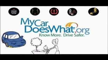 My Car Does What TV Spot, 'Modern Vehicle Safety Features Demonstration' - Thumbnail 10