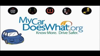 My Car Does What TV Spot, 'Modern Vehicle Safety Features Demonstration' - Thumbnail 9