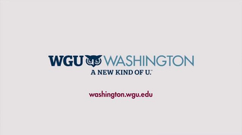 WGU Washington TV Spot, 'Where to Get a Degree' - Thumbnail 10