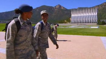 U.S. Air Force Academy TV Spot, 'Extraordinary Scholastic Record' - Thumbnail 9