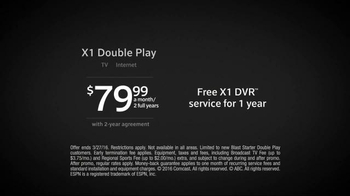 XFINITY X1 Double Play TV Spot, 'New Year' - Thumbnail 8