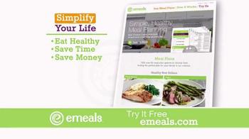 eMeals TV Spot, 'Digital Meal Planning' - Thumbnail 4