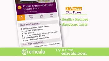 eMeals TV Spot, 'Digital Meal Planning' - Thumbnail 9