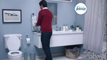 Febreze Air Effects Heavy Duty TV Spot, 'Nose Blind: Bathroom' - Thumbnail 1