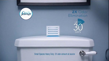 Febreze Air Effects Heavy Duty TV Spot, 'Nose Blind: Bathroom' - Thumbnail 7