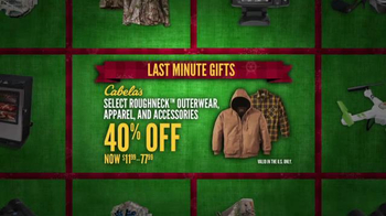 Cabela's Christmas Sale TV Spot, 'Flannels, Slippers and eGift Cards' - Thumbnail 6