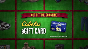 Cabela's Christmas Sale TV Spot, 'Flannels, Slippers and eGift Cards' - Thumbnail 7