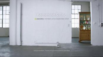 AncestryDNA TV Spot, 'Katherine & Eric' - Thumbnail 1