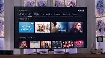 XFINITY On Demand TV Spot, 'Winter Watchlist'