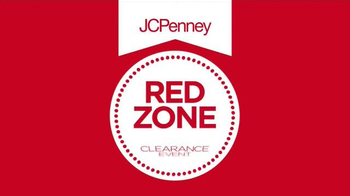 JCPenney Red Zone Clearance Event TV Spot, 'Hurry In and Save Big' - Thumbnail 1