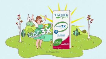 SlimQuick Pure TV Spot, 'Ingredientes naturales' [Spanish]