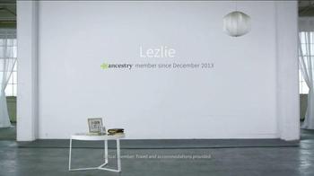 AncestryDNA TV Spot, 'Testimonial: Lezlie' - Thumbnail 2