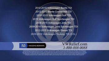Hagens Berman TV Spot, 'Volkswagen Relief' - Thumbnail 1