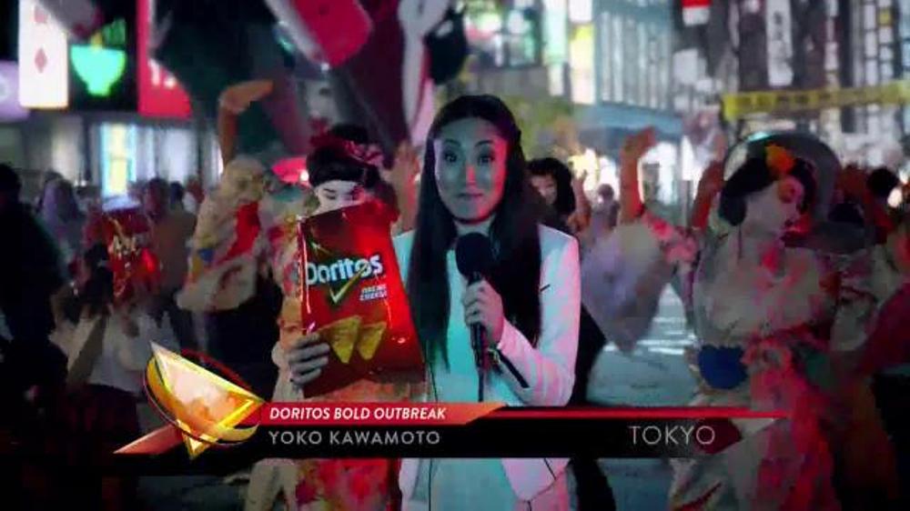 Doritos TV Commercial, 'Bold Outbreak'