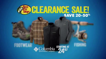 Bass Pro Shops After Christmas Clearance Sale TV Spot, 'Apparel'