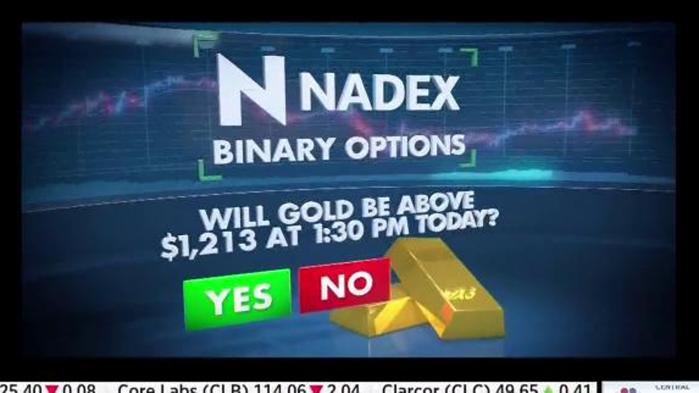 Nadex Binary Options TV Commercial, 'Two Sides to Every Trade' - Video