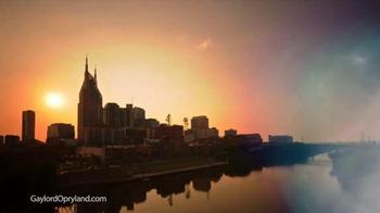 Gaylord Opryland TV Spot, 'Authentic Nashville' - Thumbnail 1