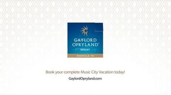 Gaylord Opryland TV Spot, 'Authentic Nashville' - Thumbnail 9