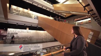 Smithsonian National Museum of American Jewish History TV Spot, 'Step Back'