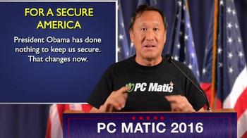 PCMatic.com TV Spot, 'Secure America 2016' - Thumbnail 4