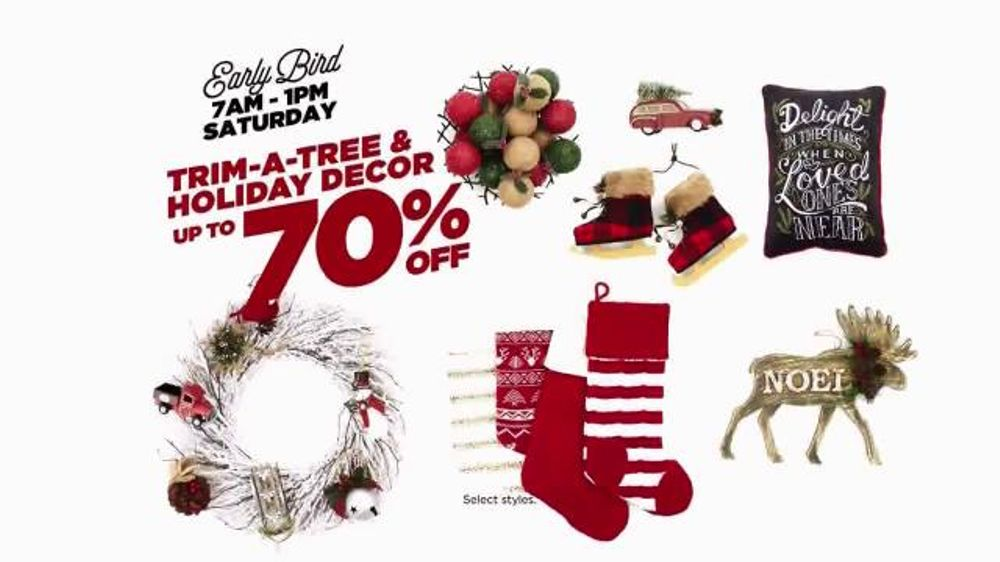 kohls after christmas sale tv commercial sweaters outerwear and decor ispottv