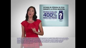 Lipozene TV Spot, 'No subir de peso durante las fiestas Navideña' [Spanish] - Thumbnail 3