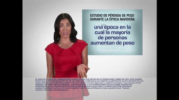 Lipozene TV Spot, 'No subir de peso durante las fiestas Navideña' [Spanish] - Thumbnail 4