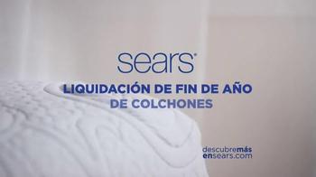 Sears Liquidación de Fin de Año de Colchones TV Spot, 'Las mejores marcas' - Thumbnail 7