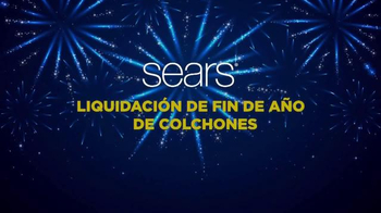Sears Liquidación de Fin de Año de Colchones TV Spot, 'Las mejores marcas' - Thumbnail 2